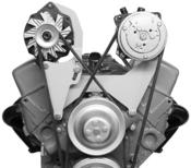 Billet A//C /& Alt brackets SBC Short Water Pump 8022P Bolt to Intake /& Water Pump