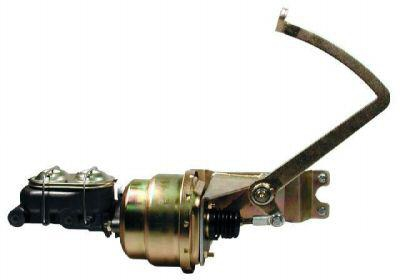 Floor Mount Brake Pedal Combo Kit W Booster Master Cylinder