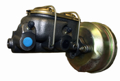 "Corvette Single Sided Master Cylinder with 7"" Booster"