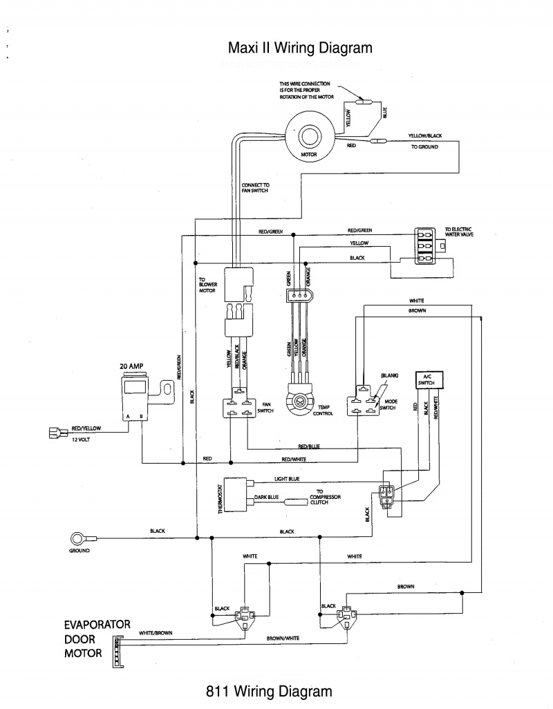 Instructions Truck In Air Conditioning Wiring Diagram Ac Maxi Ii 480 Kb