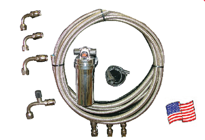 OUT OF STOCK Aeroquip Braided Stainless A/C Hose Kit