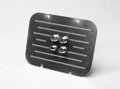 57 chevy Billet aluminum Firewall block off plate