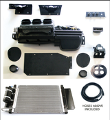 Direct fit 67-68 Camaro A/C, Heat & Defrost Complete Kit