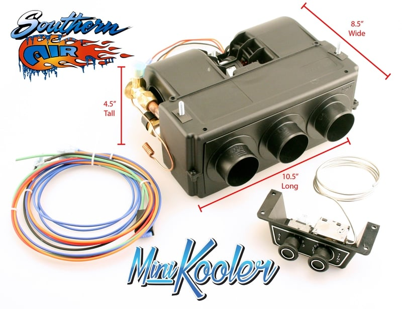 All New Mini Kooler Complete Kit