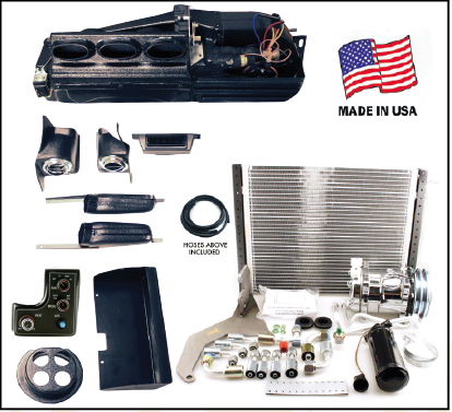 Direct Fit 55 56 Chevy A C Heat And Defrost Complete Kit