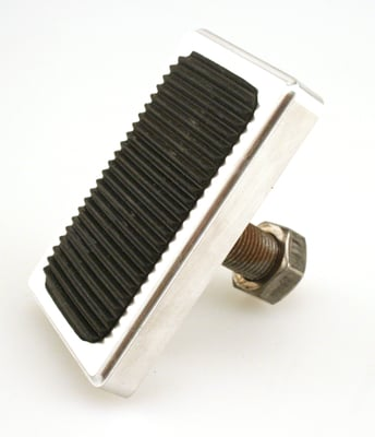 Single Pad Brake Pedal Billet Aluminum