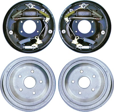 10  Drum Brake Kit Complete