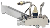 GM Style Distribution Block with Proportion Valve Chrome Finish