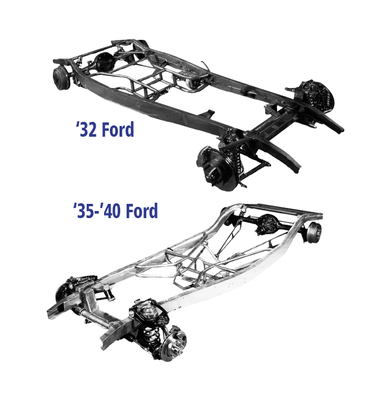 Image Gallery > Frame Rails for 32-34 Fords - Southern Rods and Parts