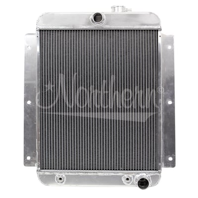 47-54 Chevy Pickup down flow aluminum radiator