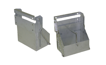 Drop Out Battery Box Stainless or Plain Steel