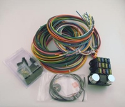 rebel wiring harnesses 8 circuit wiring kit