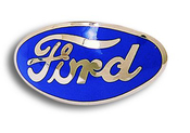 1932 Ford Grille Emblem Script 4 Colors Available!
