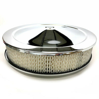 "14"" Chrome Muscle Car Style Air Cleaner"