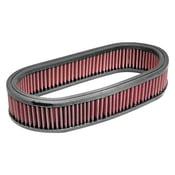 12inch Oval red K&N style Washable Air Filter