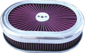 "DISCONTINUED 12"" K&N Air cleaner oval"