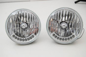 "7"" Headlights with LED turn signals"