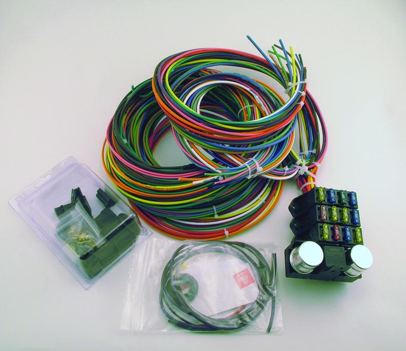 9 3 Circuit Wiring Harness