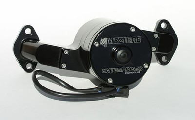 Meziere Black 100 series water pump BB chevy