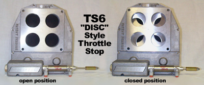 "TS6 ""DISC"" Style Throttle Stops"