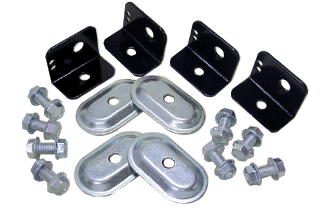 L Bracket & Seat belt Anchor Kit
