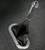 Billet Handbrake Boot Ring with Floor Mount Boot