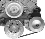 Saginaw Power Steering Bracket for R8700POL and 8022P