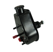 P/S Pump, 72-74 Jeep, Saginaw Self Contained Style, Black Reservoir