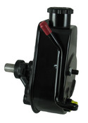 P/S Pump, 83-90 Jeep, Saginaw Self Contained Style, Black Reservoir