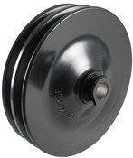 Power Steering Pulley, OEM GM, Steel, 2 Row, Keyway