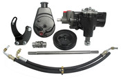 Power Steering Conversion Kit, 58-64 Chevy, SBC/SWP, Complete Kit