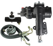 Power Steering Conversion Kit, 67-82 Corvette with factory P/S, Complete Kit