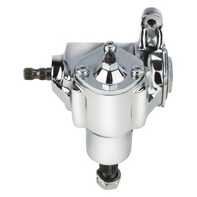 Flaming River Vega Steering Box Chrome