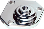 Billet Top Cap, Fits 525 and 55-57 Manual Steering Box, Polished Finish